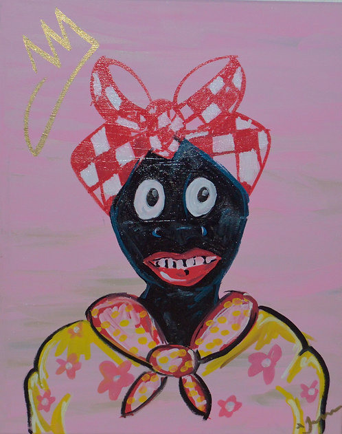 Negro Queen v2 Print