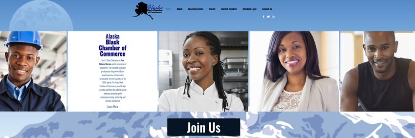 Alaska Black Chamber of Commerce Branding