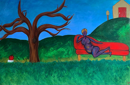 She Owns Her Land 24 x 36