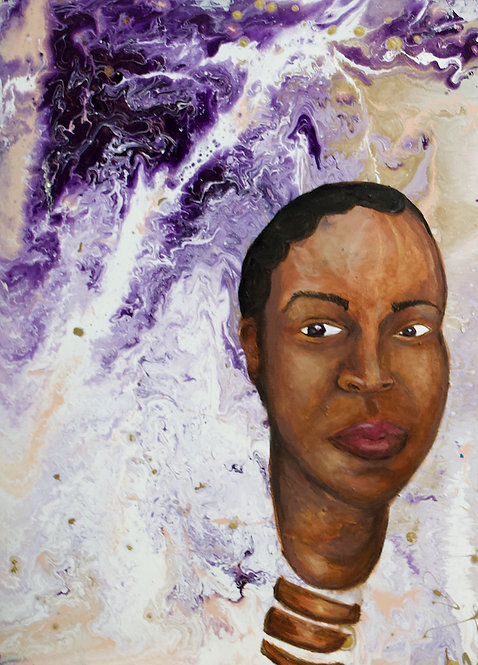 She Believed in Overflow Revisited 16 x 20 Original