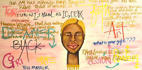 Self Portrait 24x48