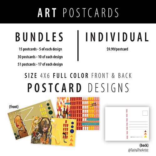 Art Postcards +Bundles