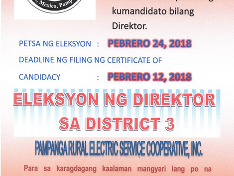 Election for Board of Directors
