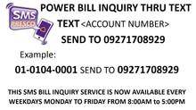New Way to Check Bill Inquiry