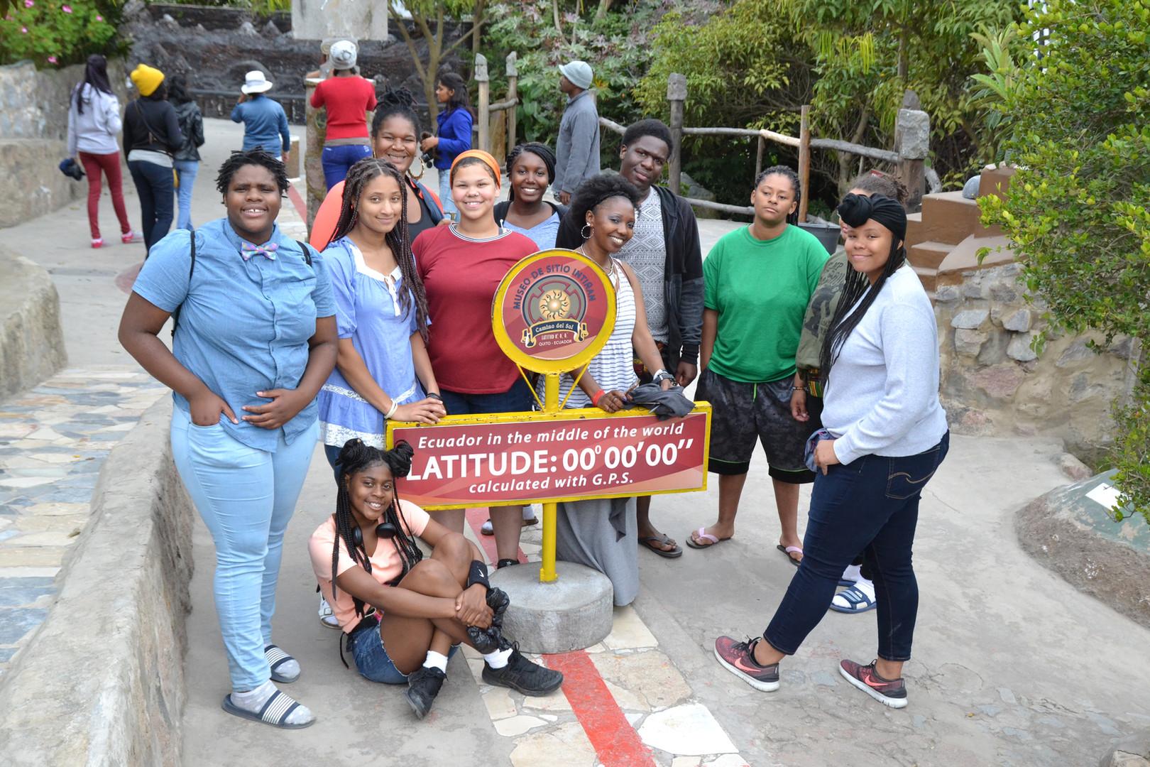Trip to the Equator in Ecuador