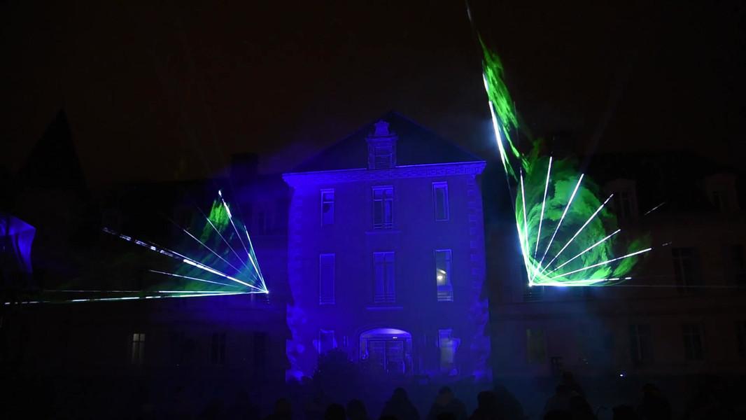 Spectacle Laser et Vidéo