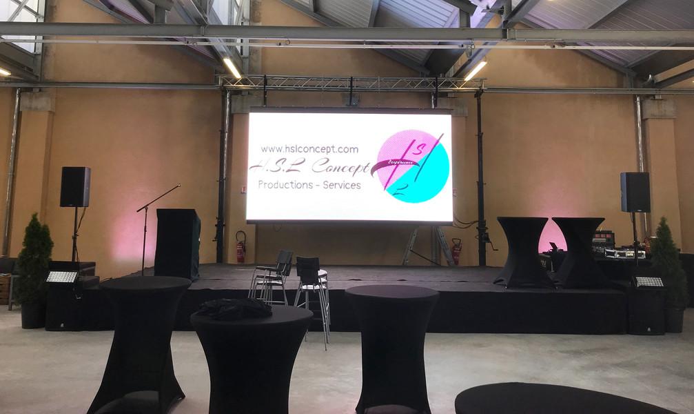 Ecran LED et Sonorisation conférence