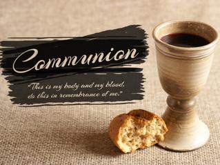 3/12 - Communion