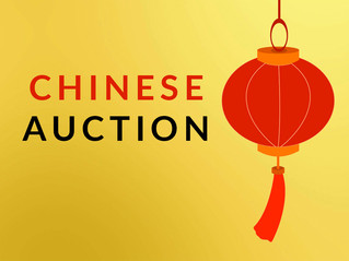 Chinese Auction - Mar 13
