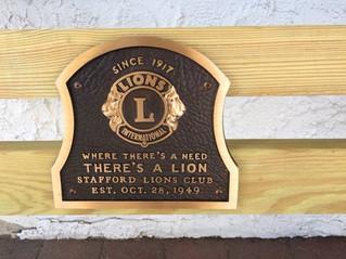 3/17 - Stafford Lions Bingo