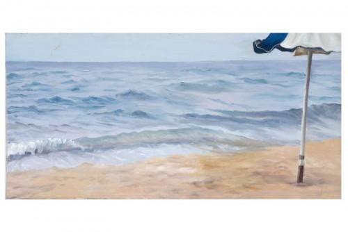 Sunshade and sea