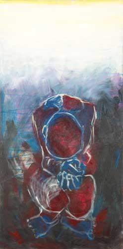 acrylic on canvas Size: 40x80cm