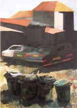 Trash-cars-buildings, 1991