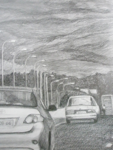 driving to Metula- detail