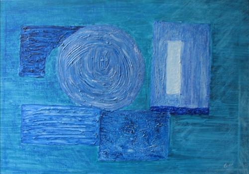 Monochrome-blue