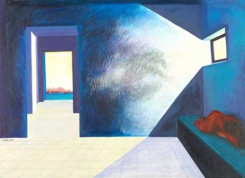 acrylic on canvas Size: 80x100cm