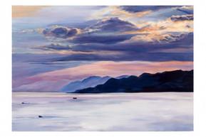 Sunset at Kineret