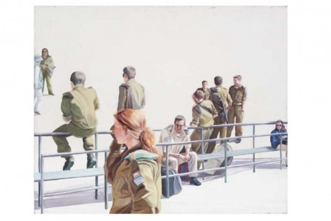 soldiers at the bus stop 2