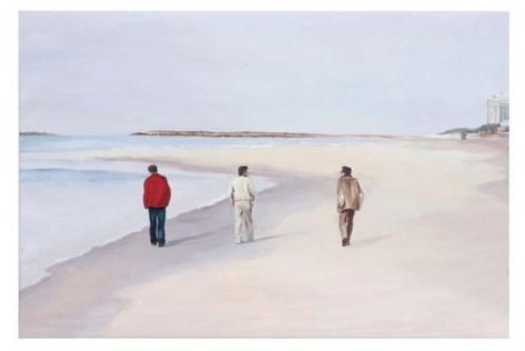 Tourists on the beach