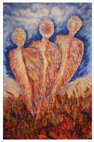 three fire zodiac figures