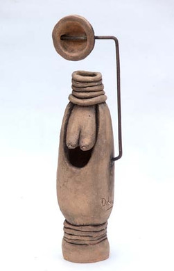 woman in sepia 2