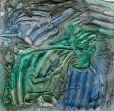 minuatura azul