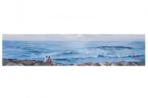 Couple and the ocean