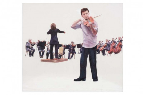 Concert with viola and orchestra
