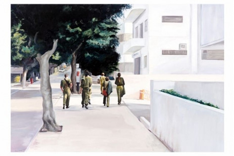 Soldiers in the street