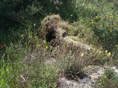 Compact ghillie suit