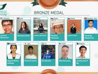 Orgullo Mexicano: Jessica Martínez, Medalla de Bronce XXXII Olimpiada Internacional de Biología 2021