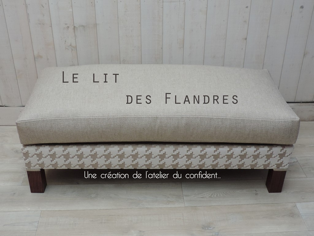 Le lit des Flandres