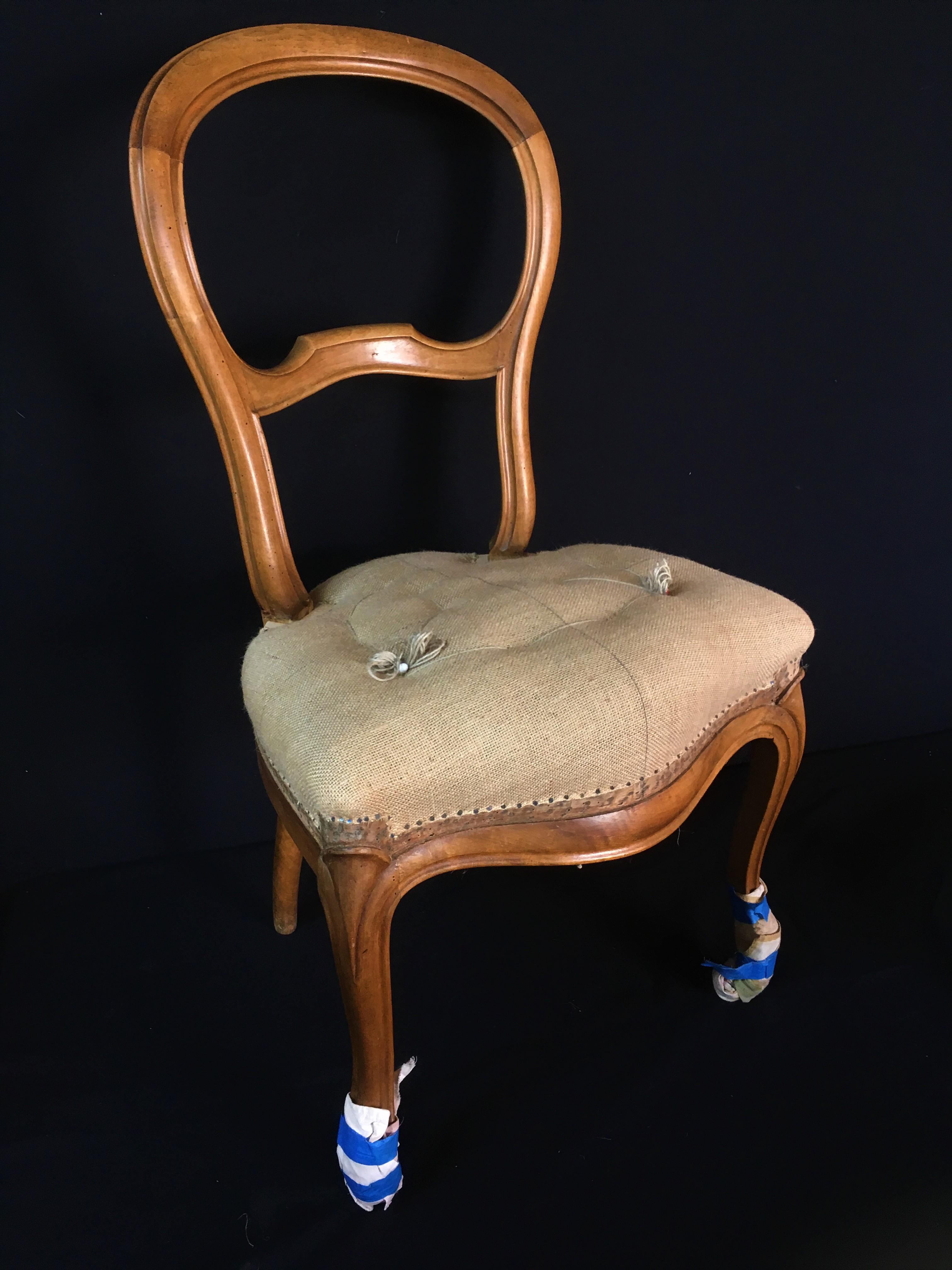 Garniture avant piquage