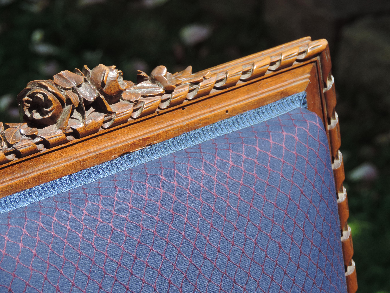 Chaises de style Louis XVI en noyer