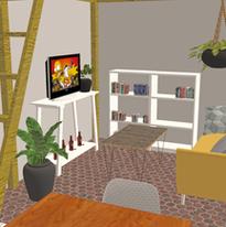 Réaménagement d'une pièce à vivre