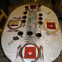 Table Noël 2020.