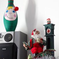 Lutin et Père Noël.