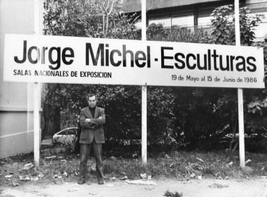 Exposición en Salas Nacionales (Palais de Glace) en Mayo de 1986.