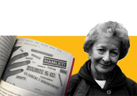 Postal de Wislawa Szymborska enviada a Ewa Lipska el 11 de marzp de 1971