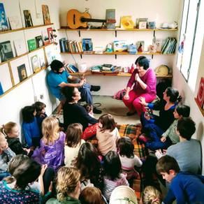 El sonido de los libros. Una conversación con Gaby Mirza y Santiago Da Rosa