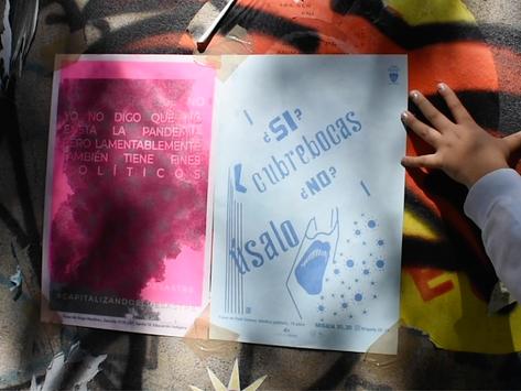 Escuchar leyendo en la calle: la gráfica como recurso