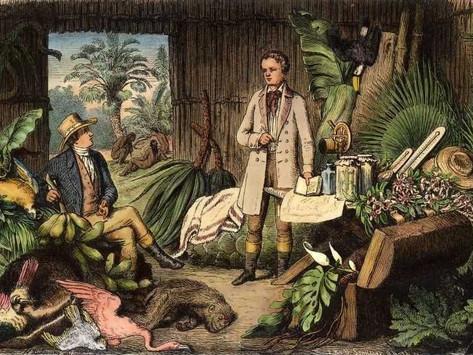 Humboldt, lector infantil