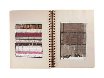 Una biblioteca de trazos, colores y formas