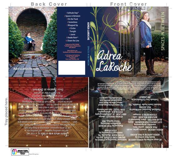 CD Cover Quad-Fold