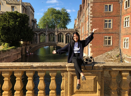 Studying Abroad: Q&A with Gina Yeung