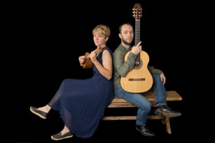 Mandoline - Brian N. Dean (Labraid Mandolins)  Guitare - Olivier Pozzo modèle Concert