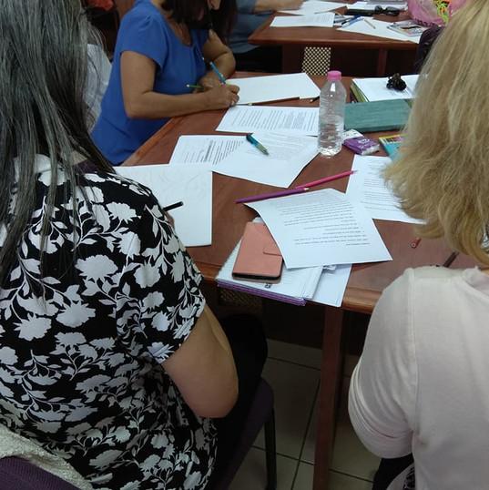 סדנא: זיהוי מיומנויות וכוחות להתמודדות במצבי קונפליקט , דרך סיפור החיים