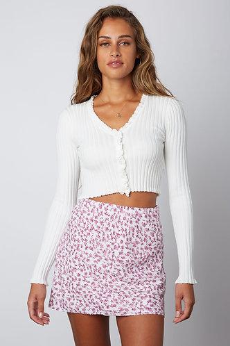 Jamila Floral Mini Skirt
