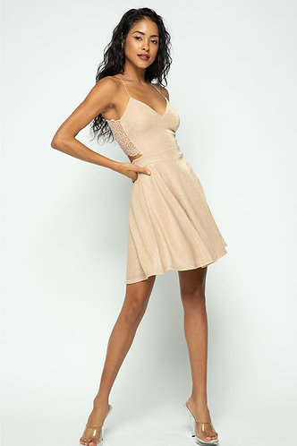 Golden Party Dress