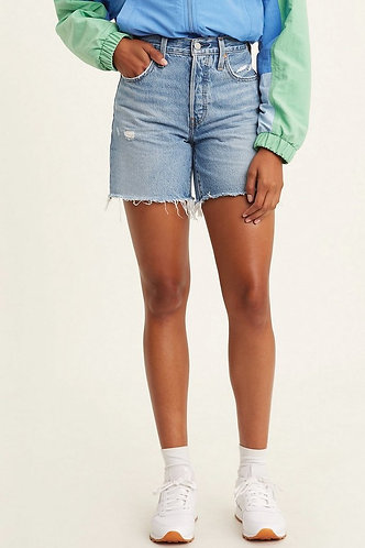 Levi Mid Thigh Shorts in Luxor Street